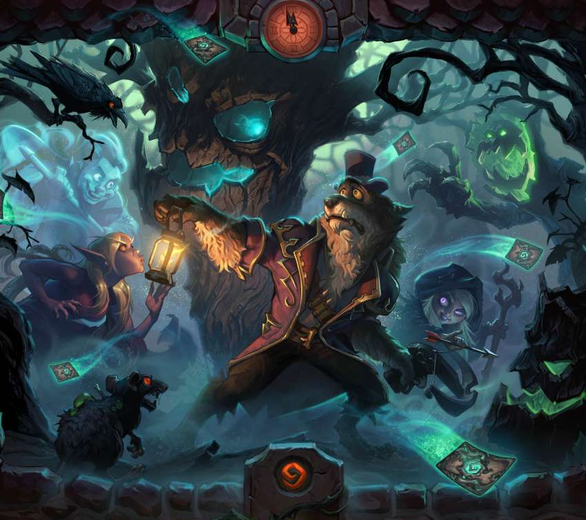 Hearthstone: Heroes of Warcraft - The Witchwood wallpaper or background