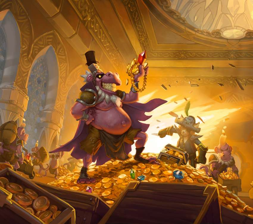 Hearthstone: The Dalaran Heist Mobile Horizontal wallpaper or background