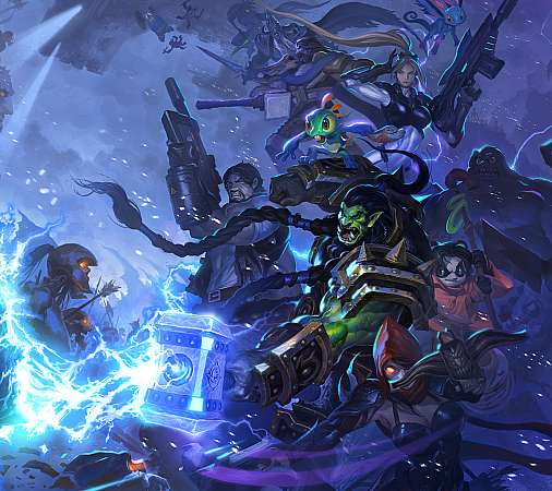 Heroes of the Storm fan art Mobile Horizontal wallpaper or background