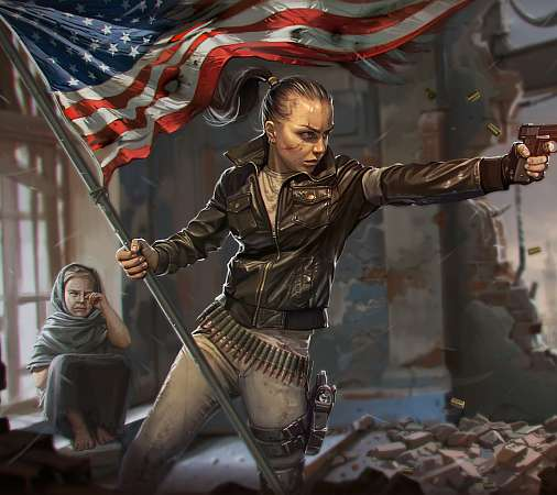 Homefront fan art Mobile Horizontal wallpaper or background