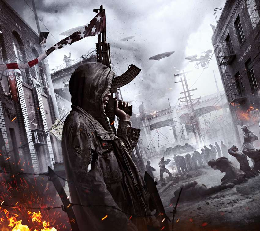 Homefront: The Revolution Mobile Horizontal wallpaper or background
