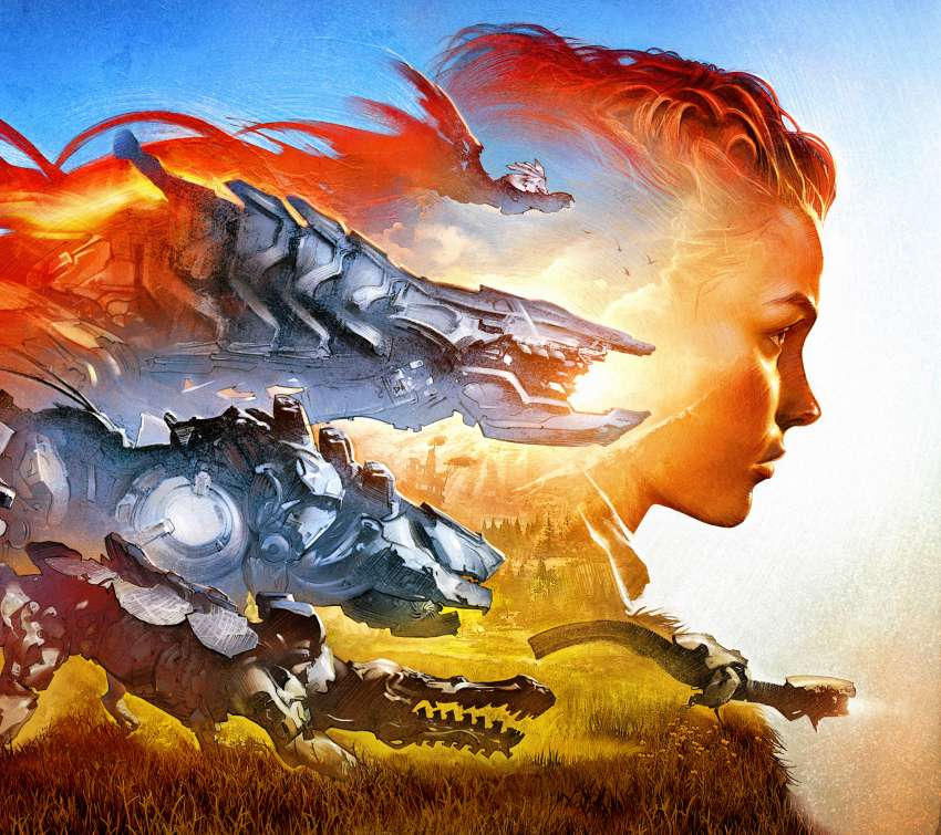 Horizon: Zero Dawn Mobile Horizontal wallpaper or background