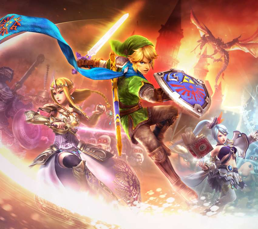 Hyrule Warriors Mobile Horizontal wallpaper or background