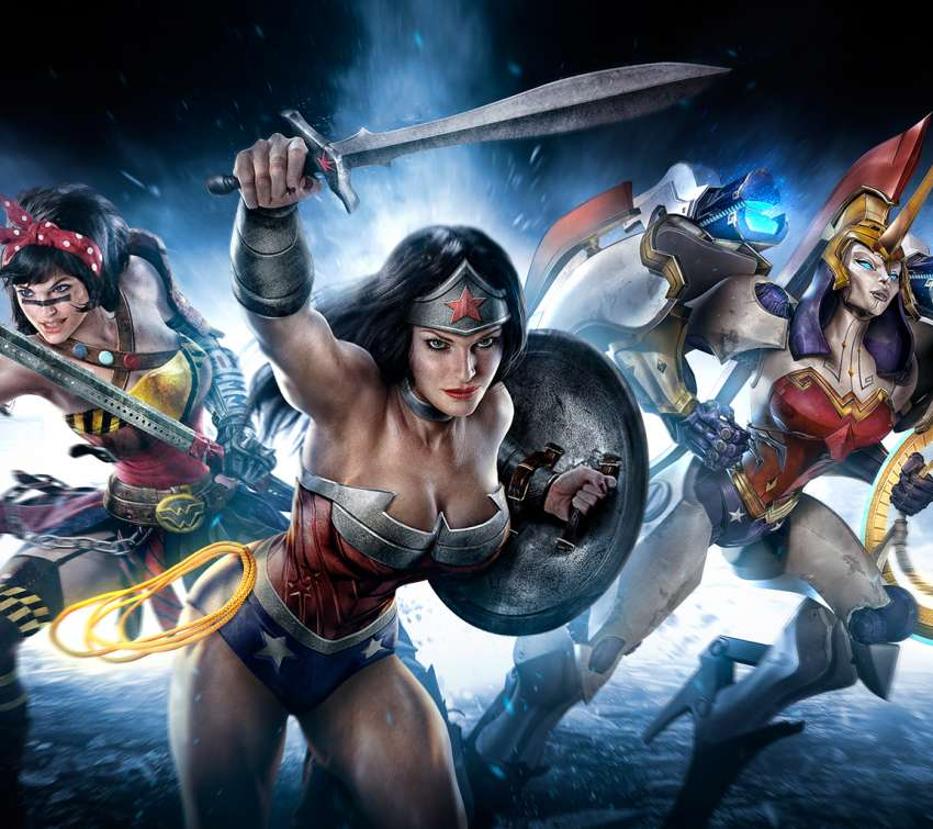 Infinite Crisis Mobile Horizontal wallpaper or background