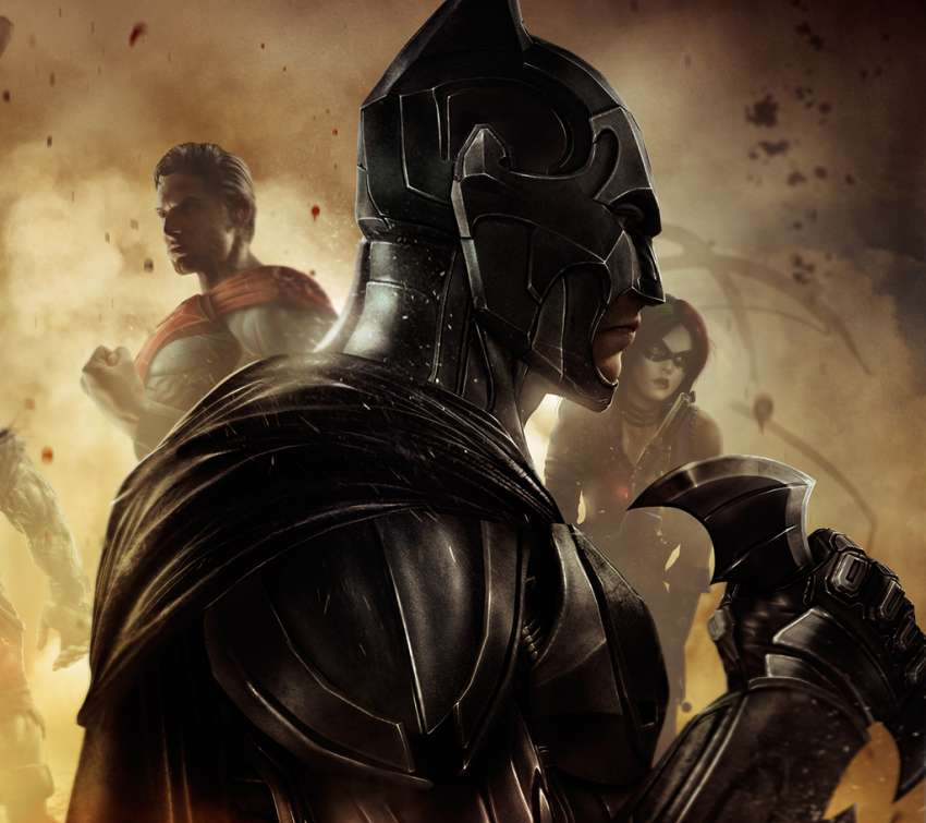 Injustice: Gods Among Us Mobile Horizontal wallpaper or background