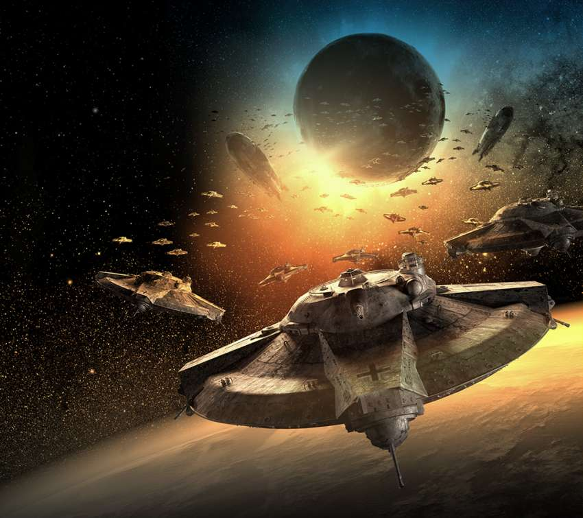 Iron Sky: Invasion wallpaper or background