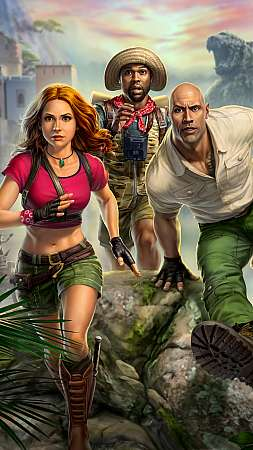 Jumanji: The Video Game Mobile Vertical wallpaper or background