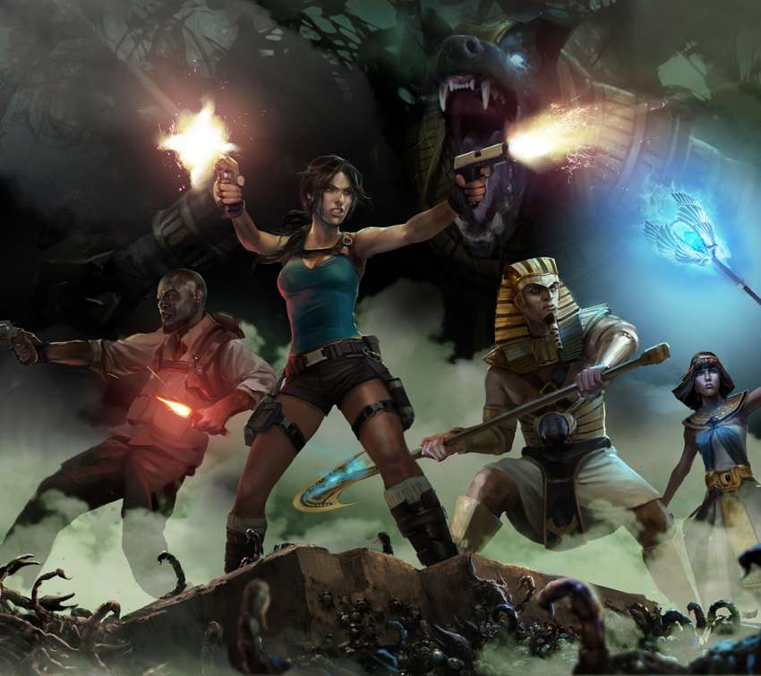 Lara Croft and the Temple of Osiris wallpaper or background