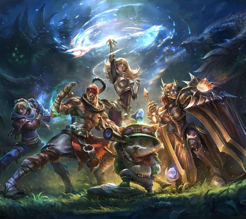 Wallpaper Mobile Legend Hd Lancelot Gamewallpapers: League Of Legends Wallpapers Or Desktop Backgrounds