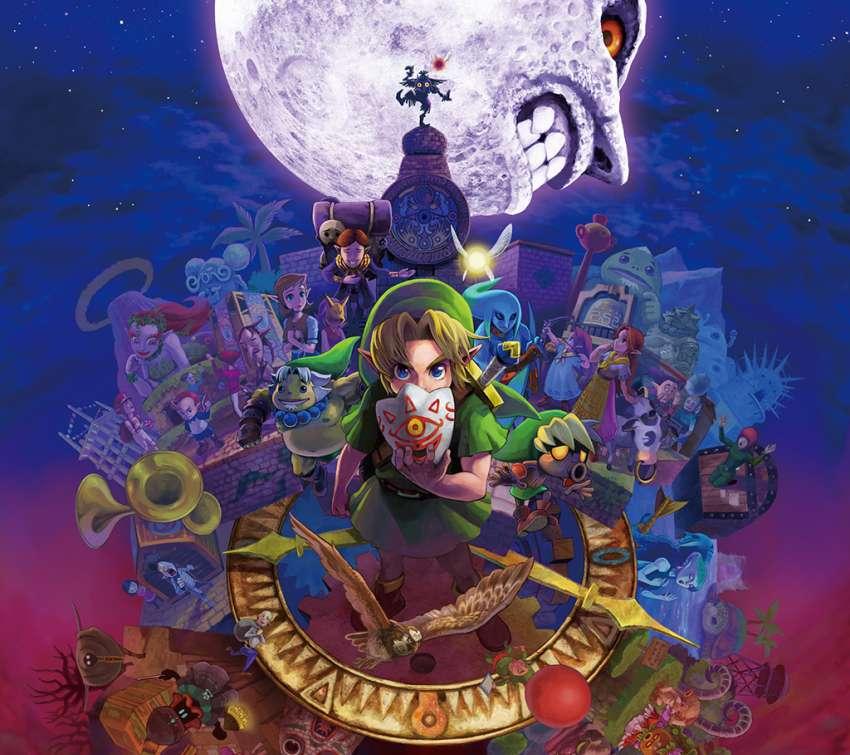 Legend Of Zelda Majoras Mask Wallpaper Or Background
