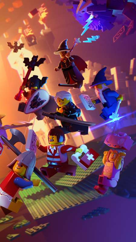 LEGO Legacy: Heroes Unboxed Mobile Vertical wallpaper or background