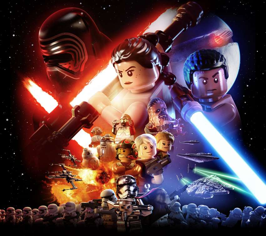 LEGO Star Wars: The Force Awakens Mobile Horizontal wallpaper or background