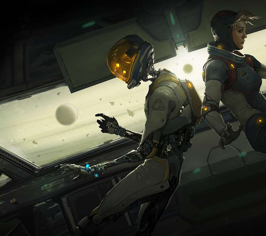 Lone Echo Mobile Horizontal wallpaper or background