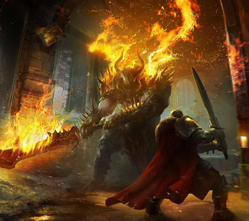 Lords of the Fallen Mobile Horizontal wallpaper or background
