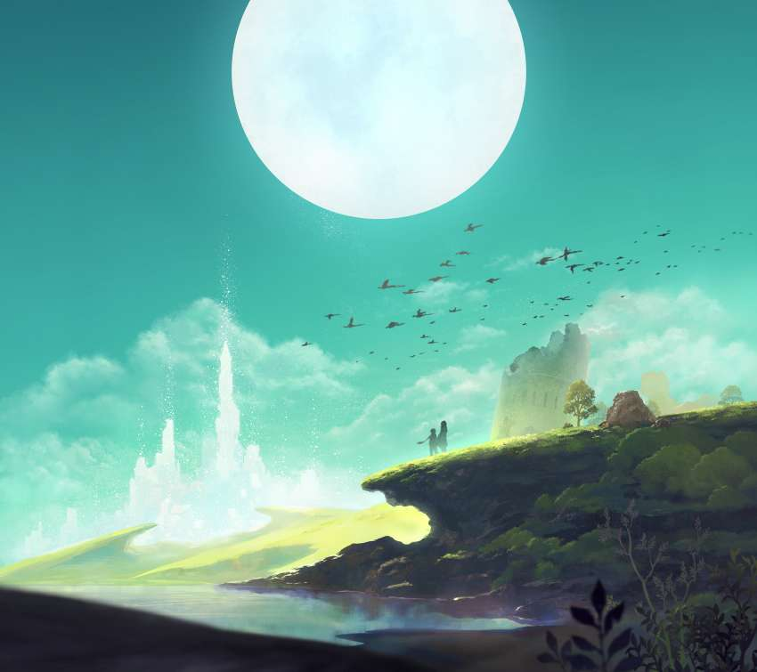 Lost Sphear Mobile Horizontal wallpaper or background