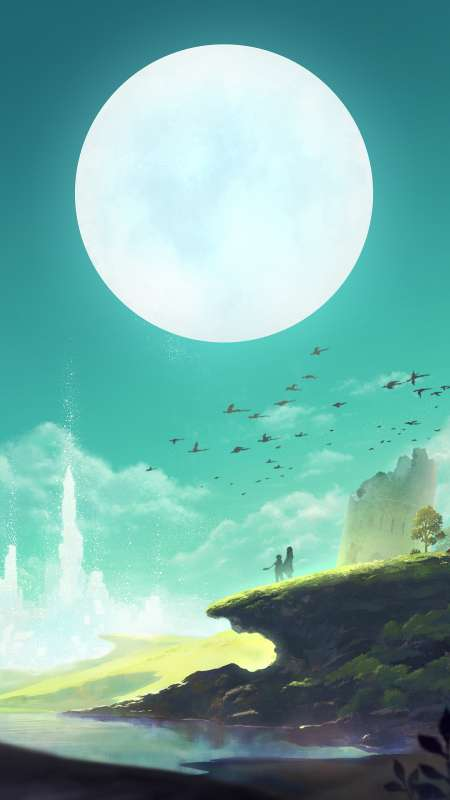 Lost Sphear Mobile Vertical wallpaper or background