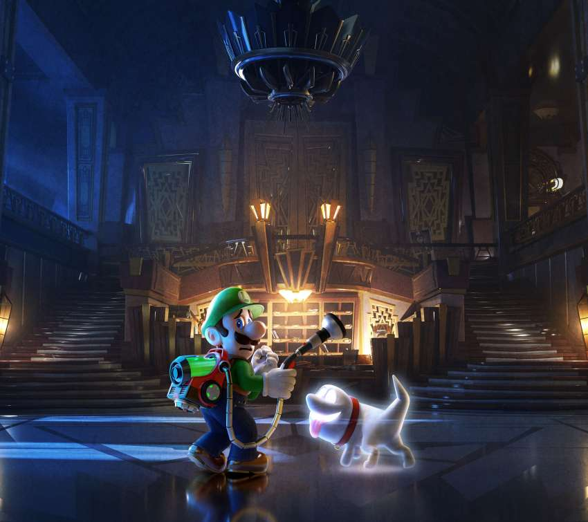 Luigi's Mansion 3 Mobile Horizontal wallpaper or background