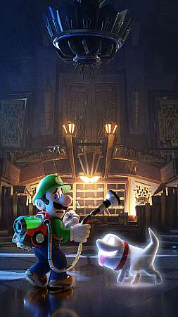 Luigi's Mansion 3 Mobile Vertical wallpaper or background