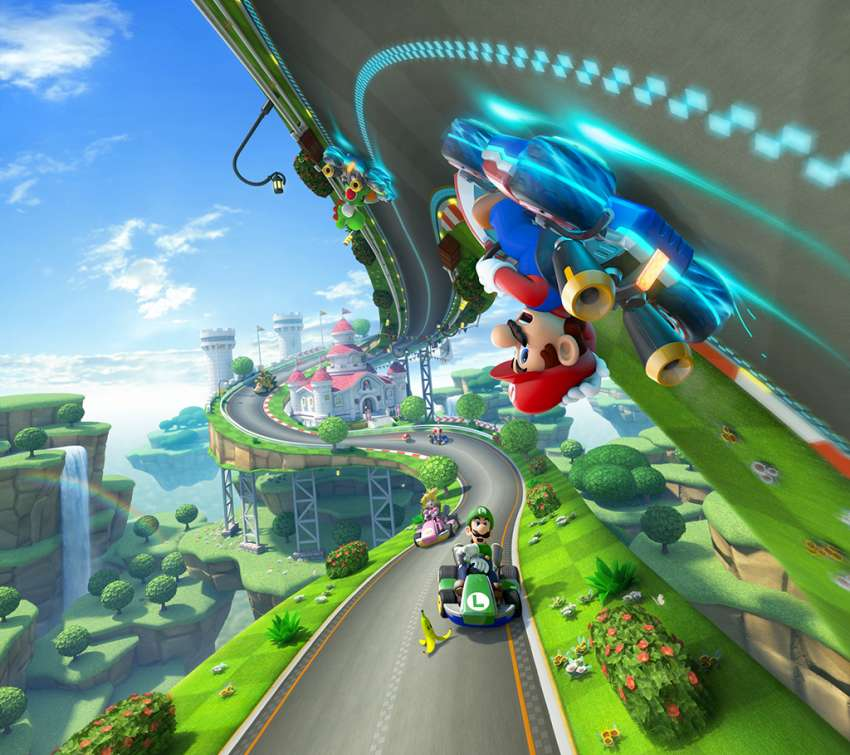 Mario Kart 8 Mobile Horizontal wallpaper or background