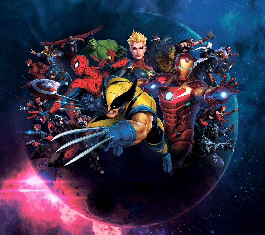 Marvel Ultimate Alliance 3: The Black Order Mobile Horizontal wallpaper or background