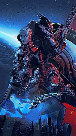 Mass Effect Legendary Edition Mobile Vertical wallpaper or background