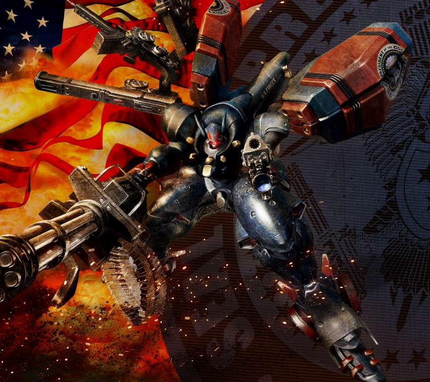 Metal Wolf Chaos XD Mobile Horizontal wallpaper or background