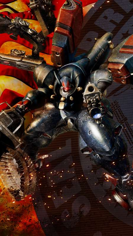 Metal Wolf Chaos XD Mobile Vertical wallpaper or background