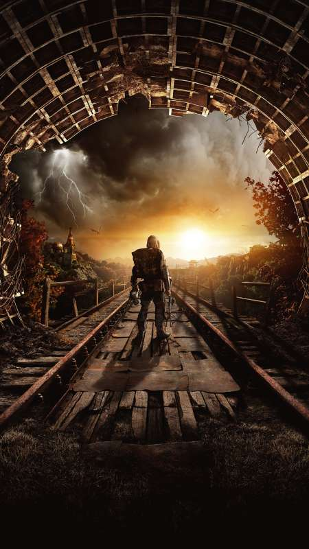 Metro Exodus Mobile Vertical wallpaper or background