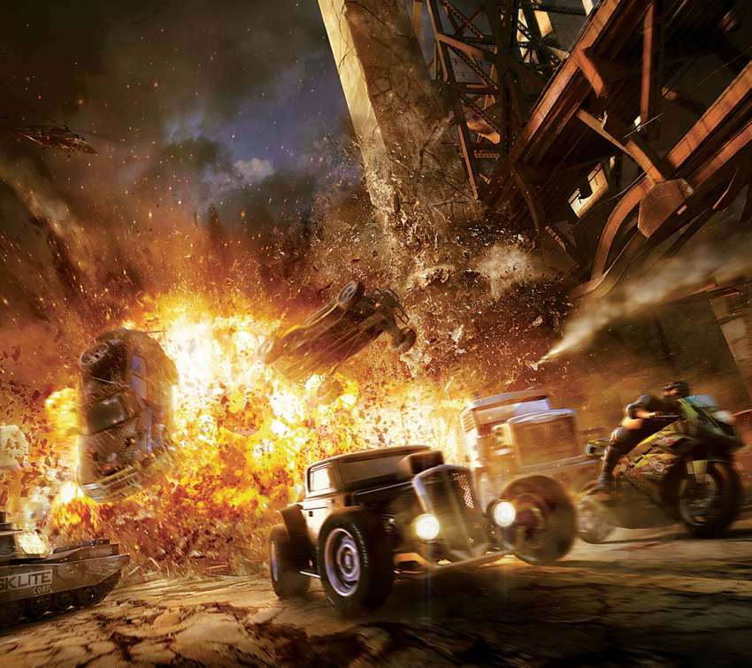 MotorStorm Apocalypse wallpaper or background