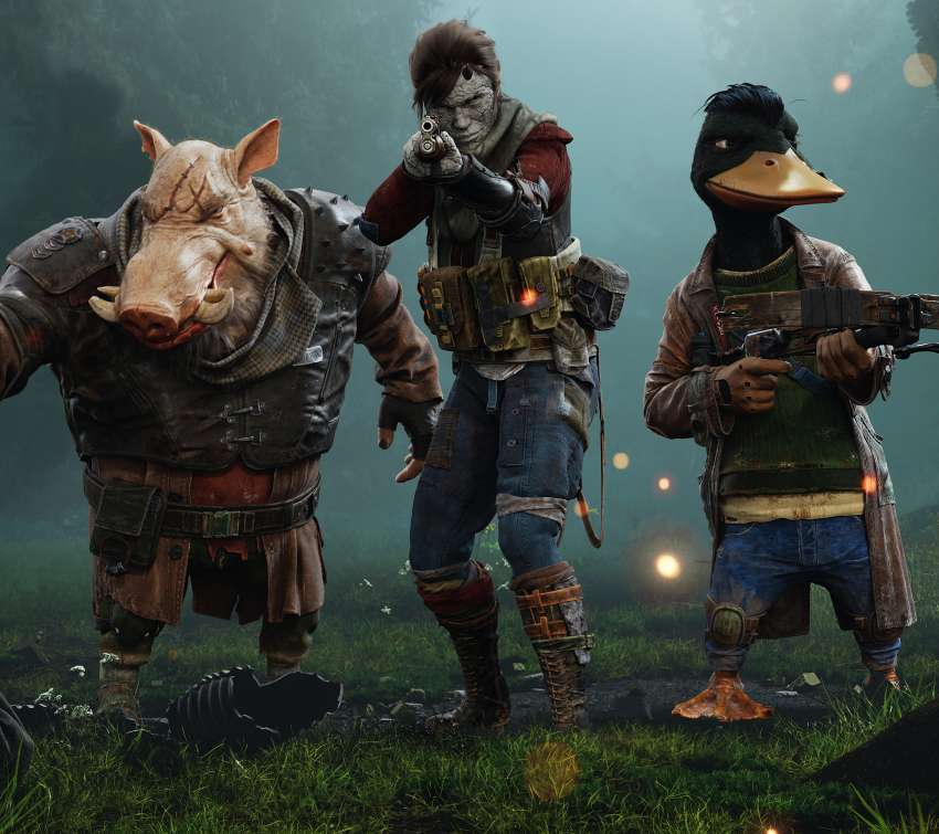 Mutant Year Zero: Road To Eden Mobile Horizontal wallpaper or background