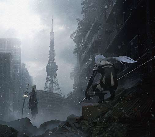 Nier Automata Mobile Horizontal wallpaper or background