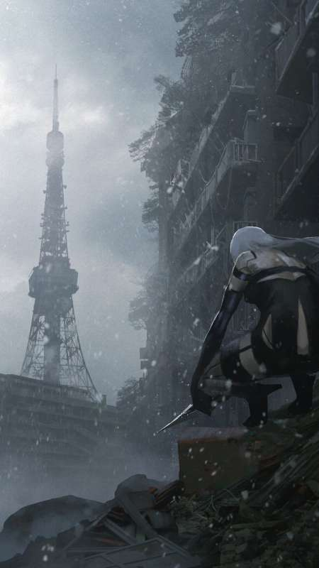 Nier Automata Mobile Vertical wallpaper or background