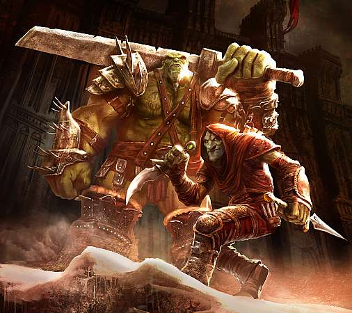 Of Orcs and Men Mobile Horizontal wallpaper or background
