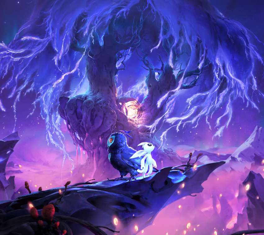 Ori and the Will of Wisps Mobile Horizontal wallpaper or background