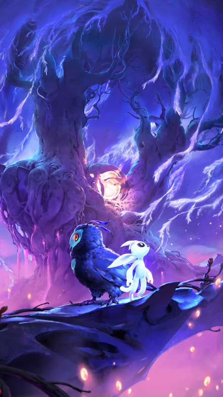 Ori and the Will of Wisps Mobile Vertical wallpaper or background