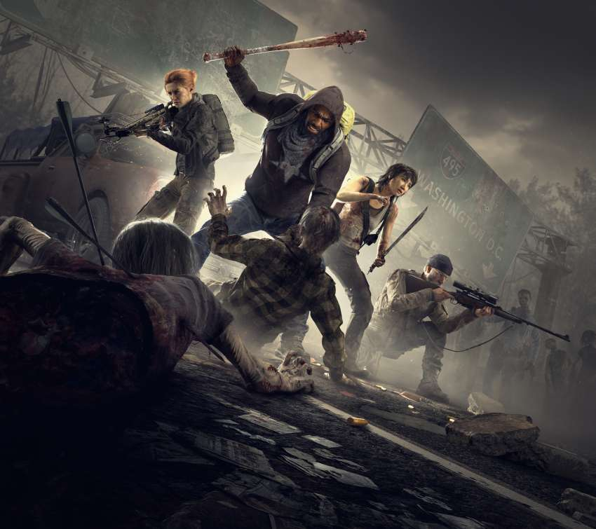 Overkill's The Walking Dead Mobile Horizontal wallpaper or background