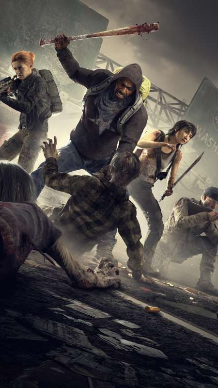 Overkill's The Walking Dead Mobile Vertical wallpaper or background