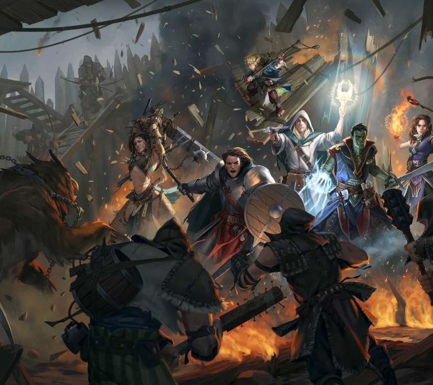 Pathfinder: Kingmaker Mobile Horizontal wallpaper or background