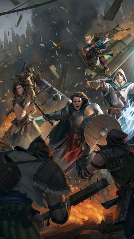 Pathfinder: Kingmaker Mobile Vertical wallpaper or background
