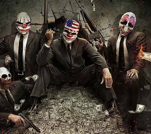PayDay: The Heist Mobile Horizontal wallpaper or background