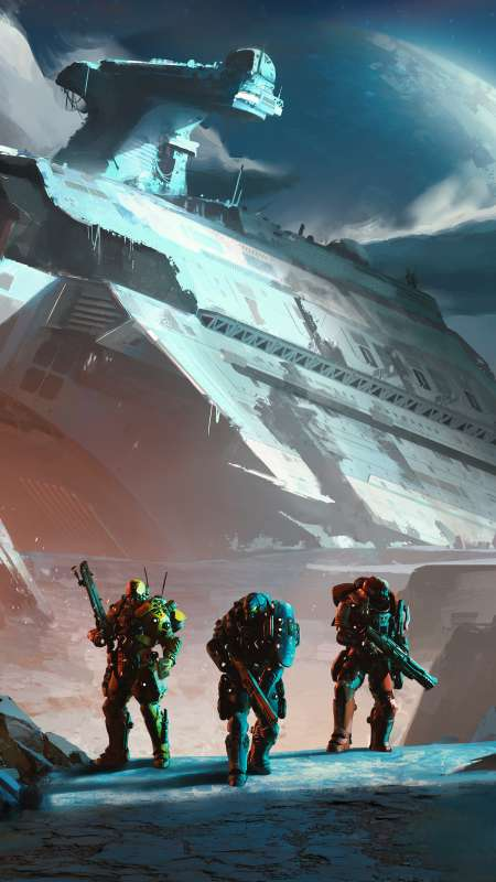 PlanetSide Arena Mobile Vertical wallpaper or background