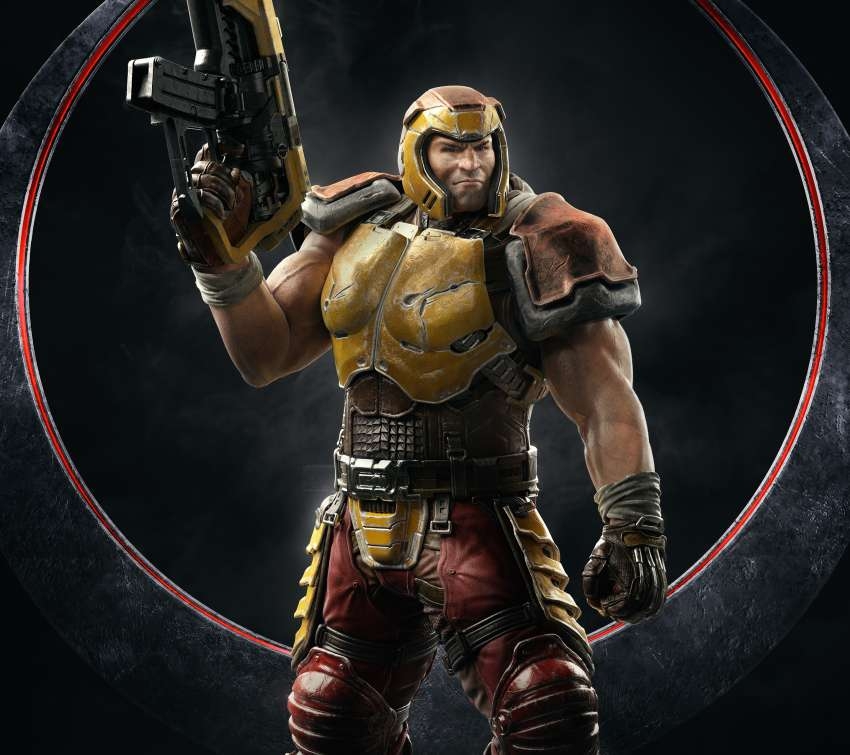 Quake Champions Mobile Horizontal wallpaper or background