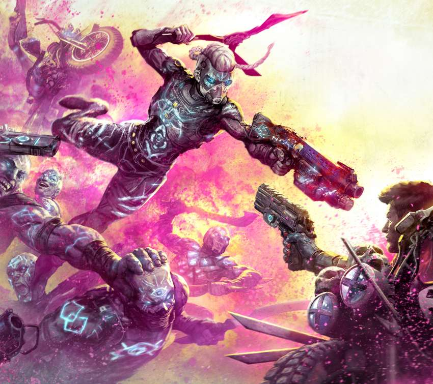 Rage 2: Rise of the Ghosts Mobile Horizontal wallpaper or background