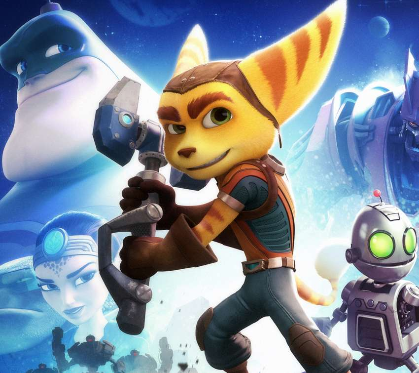 Ratchet and Clank Mobile Horizontal wallpaper or background