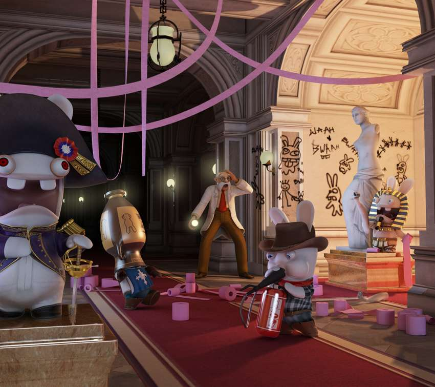 Raving Rabbids: Travel in Time wallpaper or background
