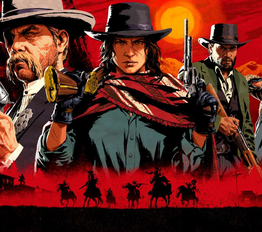 Red Dead Redemption 2 Mobile Horizontal wallpaper or background
