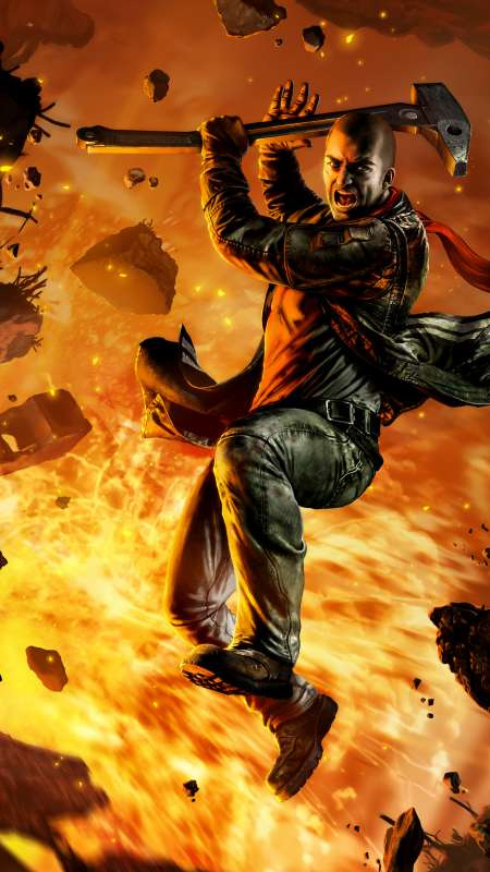 Red Faction: Guerrilla Re-Mars-tered Mobile Vertical wallpaper or background