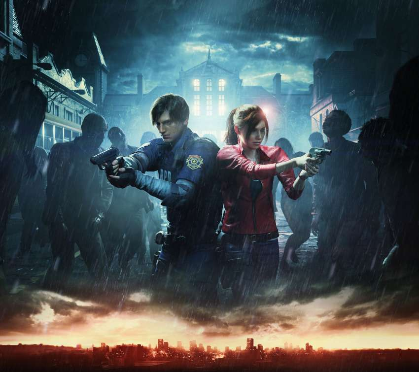 Resident Evil 2 Mobile Horizontal wallpaper or background