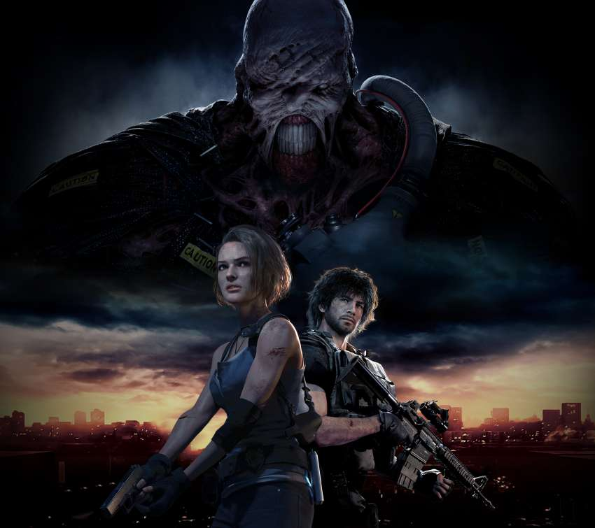 Resident Evil 3 2020 Mobile Horizontal wallpaper or background