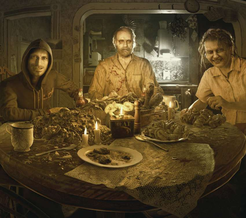 Resident Evil 7 Biohazard Mobile Horizontal wallpaper or background